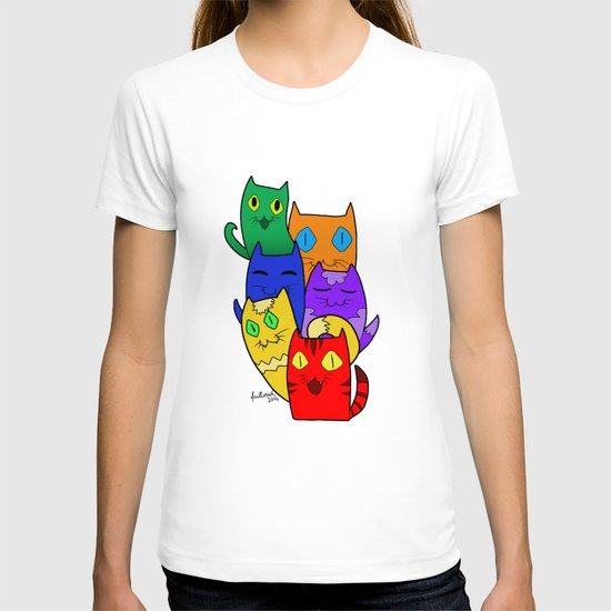 Urban cats T-shirt