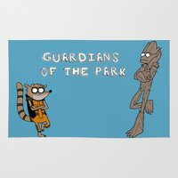 Guardians Of The Park Rug