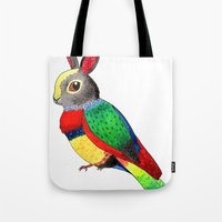 Rabbird Tote Bag