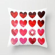 Star Wars Empire Valenti… Throw Pillow