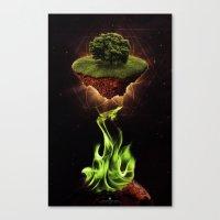 NuEden Canvas Print