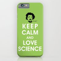 Keep Calm And Love Scien… iPhone 6 Slim Case