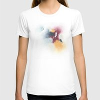 Color Study Womens Fitted Tee White SMALL