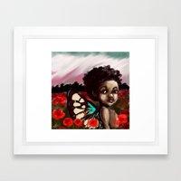 Aman Framed Art Print