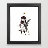 AK Framed Art Print