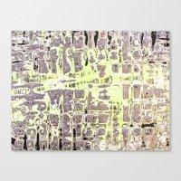 Pickup Lines - Kiss Canvas Print