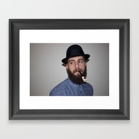 Punk & Pipe Framed Art Print