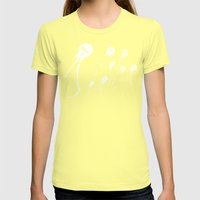 Skulyfish Womens Fitted Tee Lemon SMALL
