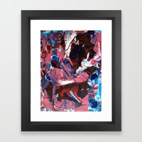 The First Time Framed Art Print