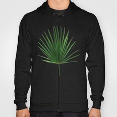 Simple Palm Leaf Geometry Hoody