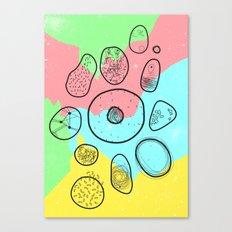 Mikrobi Canvas Print