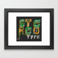Stereotype Framed Art Print