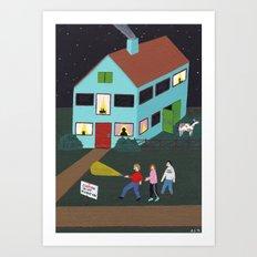Idiot Migration Art Print