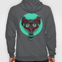 Black CAT- Black Hoody