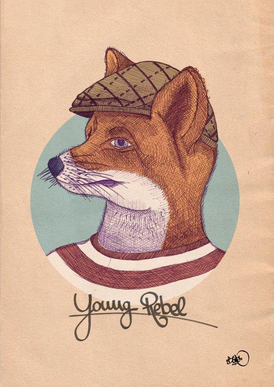 Young Rebel Art Print