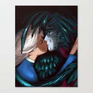 Howl And Sophie Canvas Print
