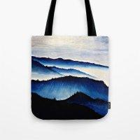 Mountain Landscape. Tote Bag