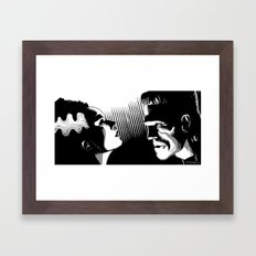 Frankie and the Bride Framed Art Print