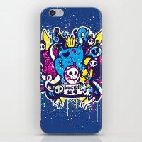 Unlucky Kitty iPhone & iPod Skin