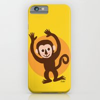 monkey iPhone & iPod Cases featuring Monkey by BATKEI