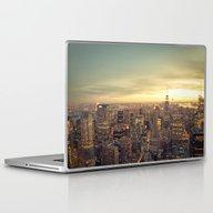 Laptop & iPad Skin featuring New York Skyline Citysca… by Vivienne Gucwa