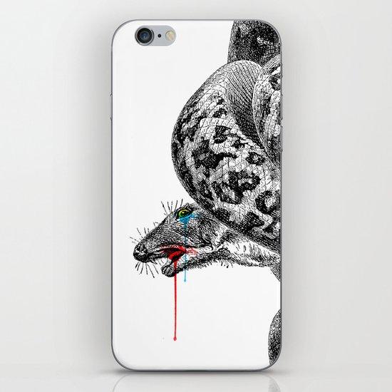 hunger iPhone & iPod Skin