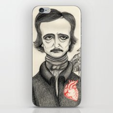 Allan Poe iPhone & iPod Skin