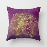Abstract 86294303 Throw Pillow