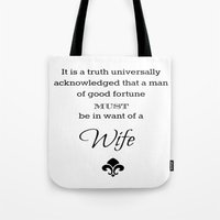 It Is A Truth Universall… Tote Bag