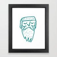 Frostbeard Logo Framed Art Print