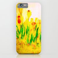 iPhone & iPod Case featuring Tulips in the springtime by Valerie Anne Kelly
