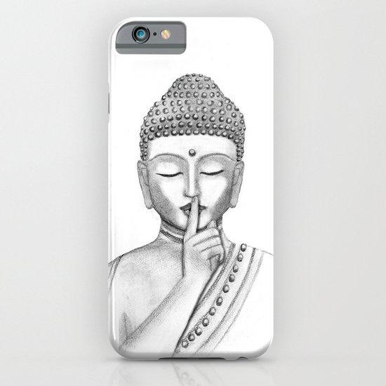Shh... Do not disturb - Buddha iPhone & iPod Case
