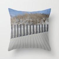 Sand Dune Ripples Throw Pillow