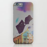 iPhone Cases featuring The Institution by Jane Lacey Smith