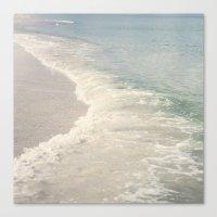 Turquoise Seas Canvas Print
