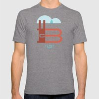 The Factory Mens Fitted Tee Tri-Grey SMALL