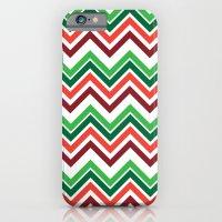 Xmas Chevron iPhone 6 Slim Case