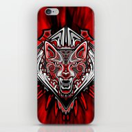 Wolf Tattoo Style Haida … iPhone & iPod Skin
