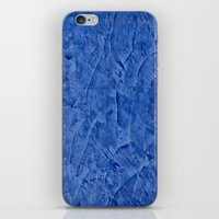 Vibrant Light Blue Plast… iPhone & iPod Skin