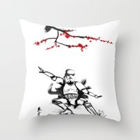 Eastern Storm Throw Pillow