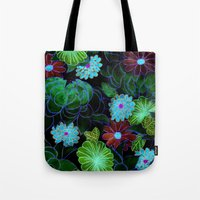 Oriental Blossom (night … Tote Bag