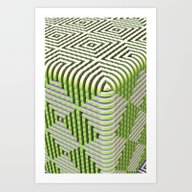 The Box Art Print