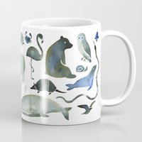 Animals In Black (and Bl… Mug