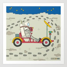 Moon Rover 1969 Art Print