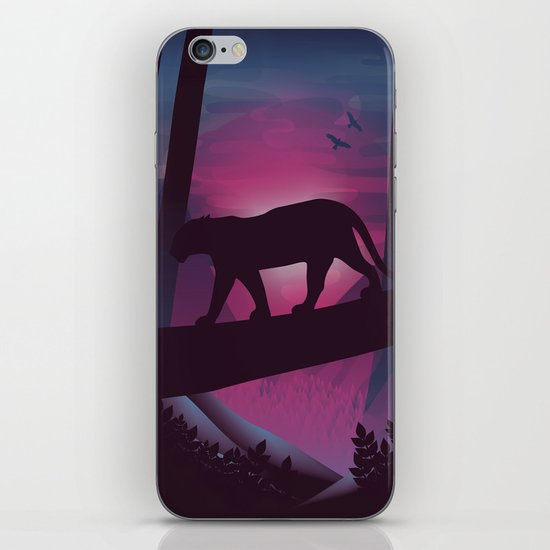 So Peaceful I Can Hear My Blood iPhone & iPod Skin
