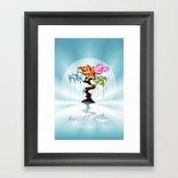 The Four Seasons Bubble … Framed Art Print