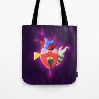 Cursed Heart Tote Bag