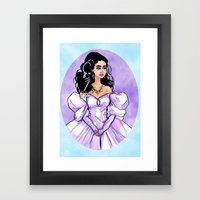 Sarah- Labyrinth Framed Art Print