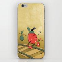 It's A Carefree Hobo Lif… iPhone & iPod Skin