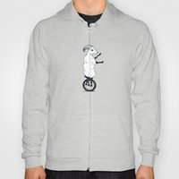 Goat on a Unicycle Hoody